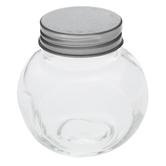 Round Glass Mason Jars