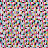 Bright Triangle Apparel Fabric