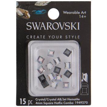 Swarovski Square Hot Fix Crystals