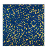 Blue & Gold Dot Gift Wrap