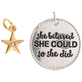 She Believed She Could Charms