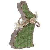 Burlap Bunny Place Card Holder
