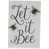 Let It Bee Wood Decor