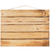 Torched Wood Pallet Wall Decor