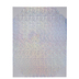 Holographic Silhouette Adhesive Sheets