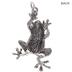 Steampunk Frog Pendant