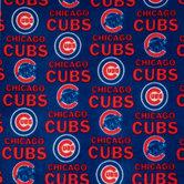 MLB Chicago Cubs Fleece Fabric
