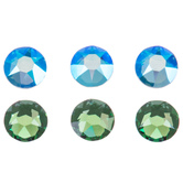 Erinite Shimmer Swarovski Xirius Flatback Crystals - 16ss