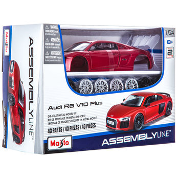 Audi R8 V10 Plus Die Cast Model Kit Hobby Lobby 1556166