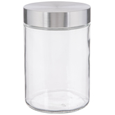 Stainless Glass Mason Jar - 38 Ounce