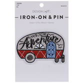 Adventure Camper Iron-On Applique