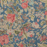 Indigo After Glow Floral Fabric