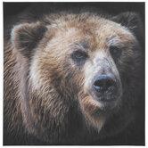 Realistic Bear Canvas Wall Decor