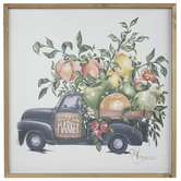Farm To Table Truck Wood Wall Decor