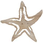 Starfish Wood Wall Decor