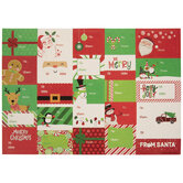 Christmas Icon Gift Tag Stickers