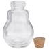 Bulb Glass Jar