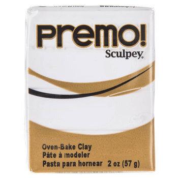 White Premo! Sculpey Clay
