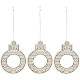 Wood Frame Ornaments