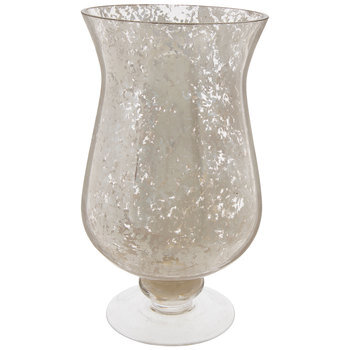 Silver Mercury Glass Vase
