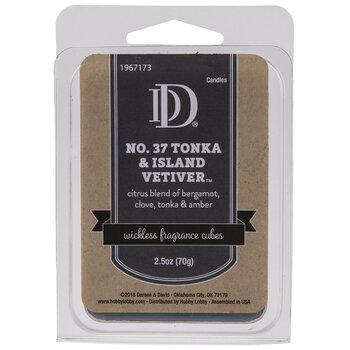 Tonka & Island Vetiver Fragrance Cubes
