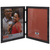 Woven Metal Double Frame