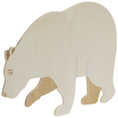 Bear Wood Shape