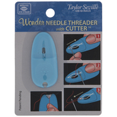 Blue Wonder Needle Threader With Cutter