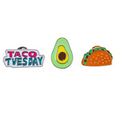 Taco Tuesday Enamel Pins