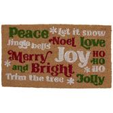 Merry & Bright Doormat