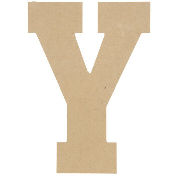 "Wood Letter Y - 13"""