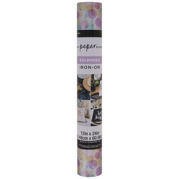 Pastel Polka Shimmer Iron-On Transfer