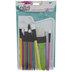 Paint Brushes & Palette Set - 18 Pieces