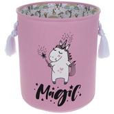 Pink Unicorn Magic Laundry Hamper - Large