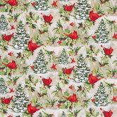 Cardinals & Pines Cotton Fabric