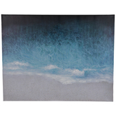 Textured Beach Canvas Wall Decor