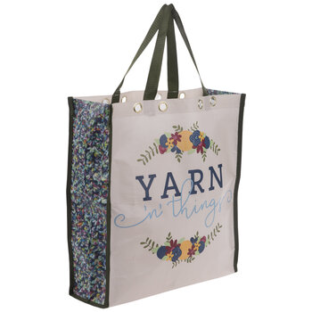 Yarn 'N' Things Floral Bag