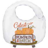 Cutest Pumpkin In The Patch Bib