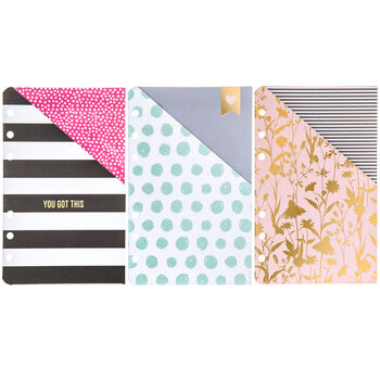Trendy Planner Pocket Folders
