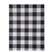 "White & Black Buffalo Check Scrapbook Paper - 8 1/2"" x 11"""