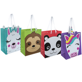 Animal Faces Gift Bags