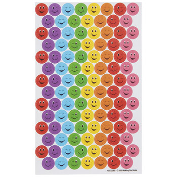 Assorted Smile & Wink Stickers