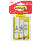 Assorted Command Picture Hanging Strips