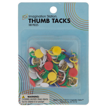 Multi-Color Thumb Tacks