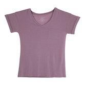 Desert Rose Drapey V-Neck Adult T-Shirt - Medium