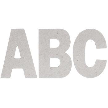 Chipboard Alphabet Stickers