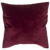 Red Plum Velvet Pillow