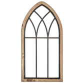 Rustic Cathedral Arch Wood Wall Decor