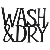 Wash & Dry Metal Wall Decor