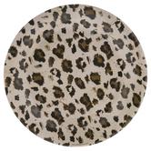 Leopard Print Paper Plates - Large
